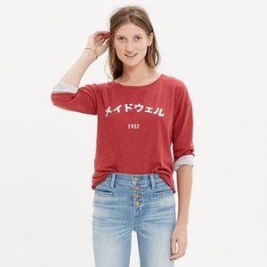 Madewell Japanese Graphic Shirt